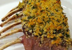 Herb Rack of Lamb