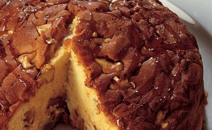 Chestnut Honey & Walnut Cake